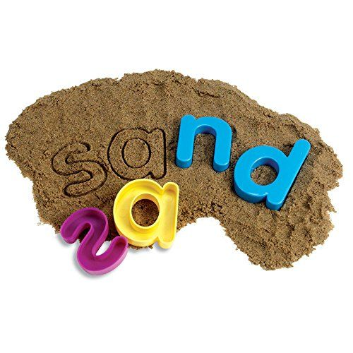 Learning Resources Lowercase Sand Molds, 2015 Amazon Top ...