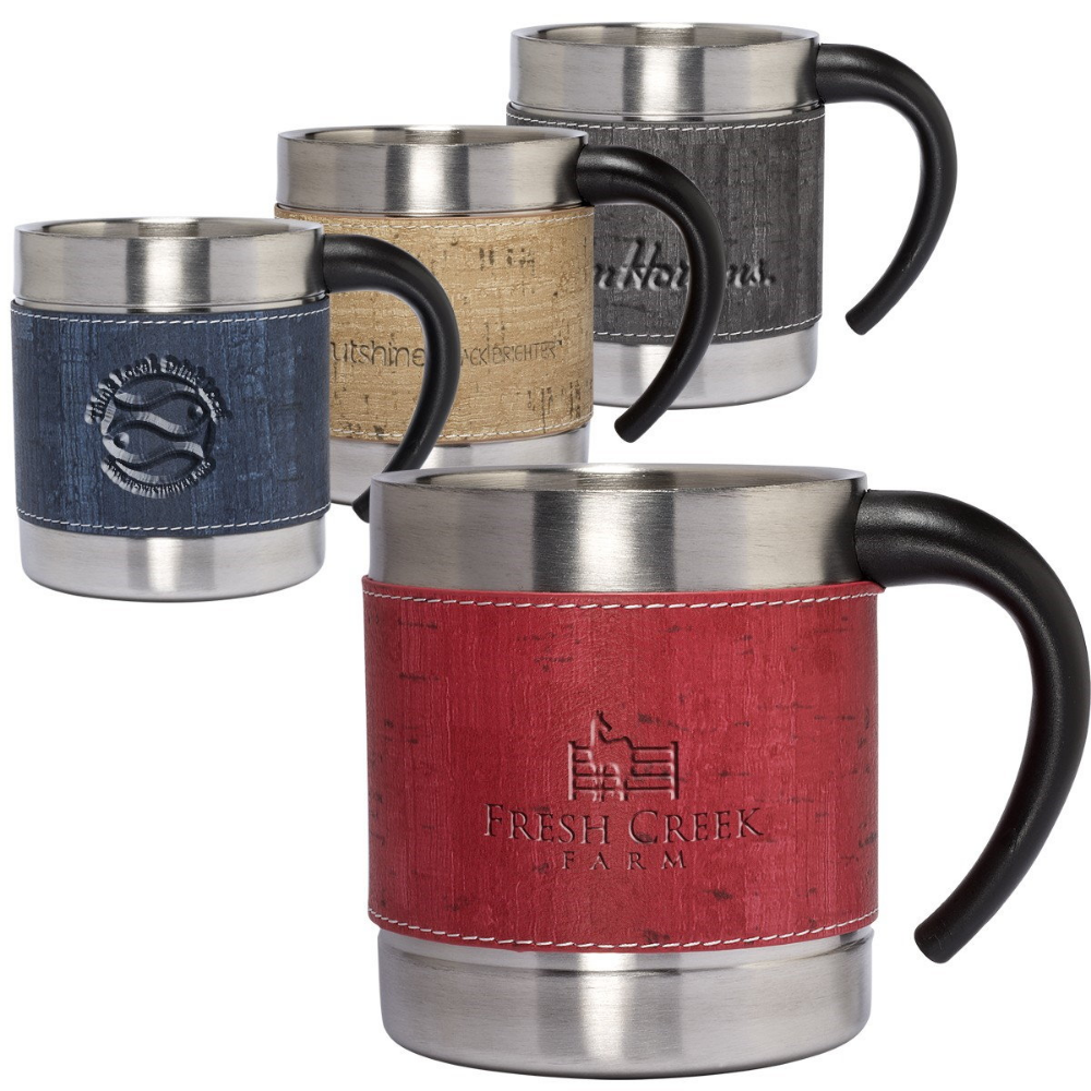 Wholesale 10 oz. Coffee Cups DMU415 BlueberryInk