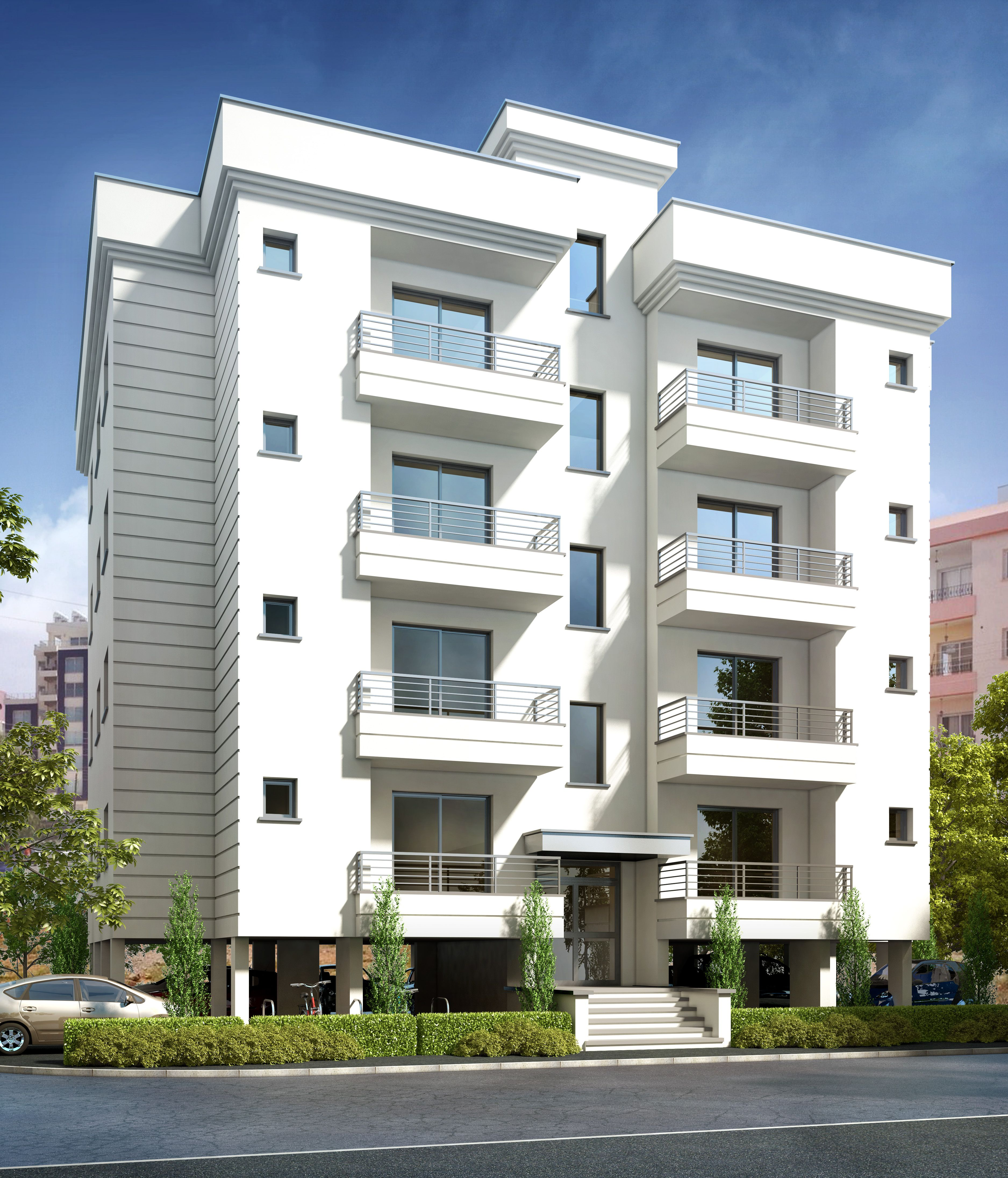 Apartment Facade: Luxurious Apartments For Sale In Bogaz, Northern Cyprus