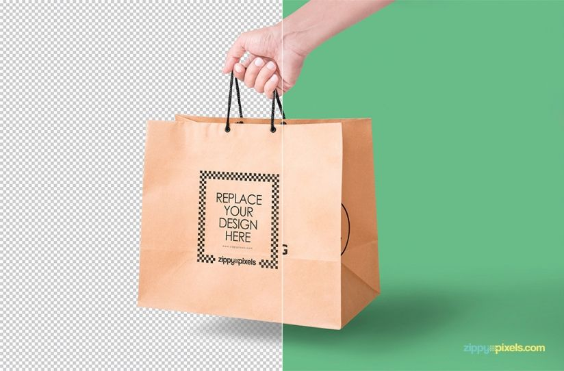 Download Paper Bag Mockup Free Psd Download Zippypixels Bag Mockup Paper Bag Free Packaging Mockup