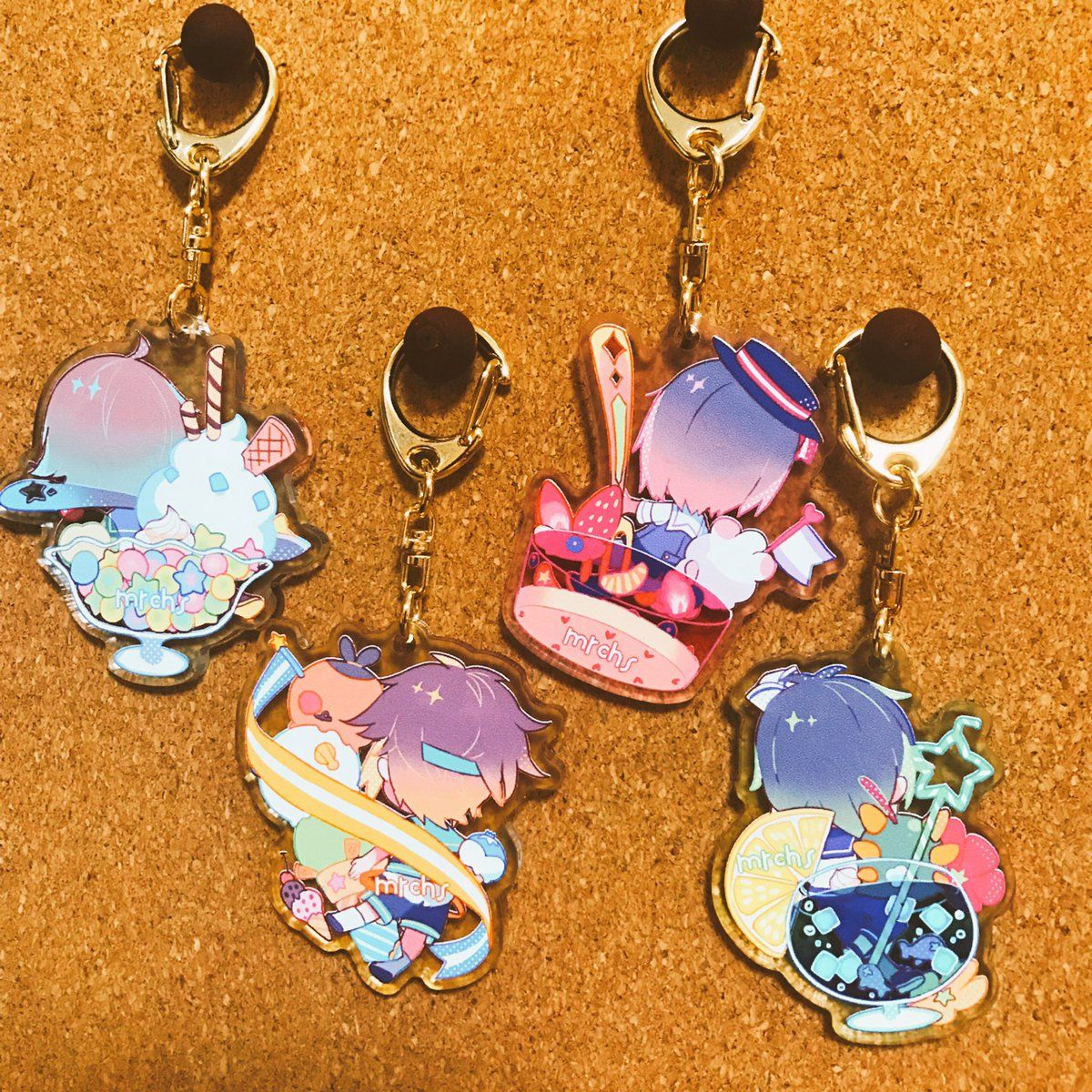 how to make acrylic keychains with pictures