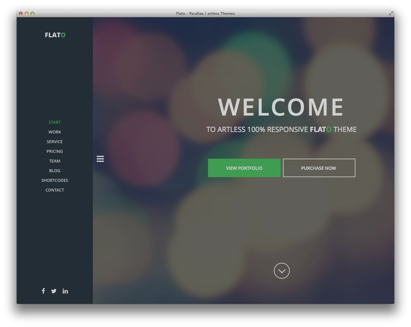 Flato - Flat Design theme   Interfaces & Interactions   Pinterest ...