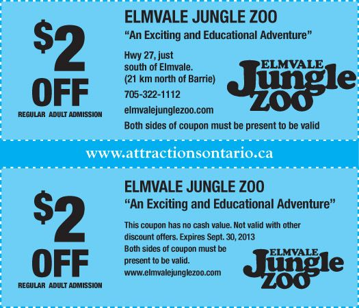 Pin On Attraction Coupons 2013 2014