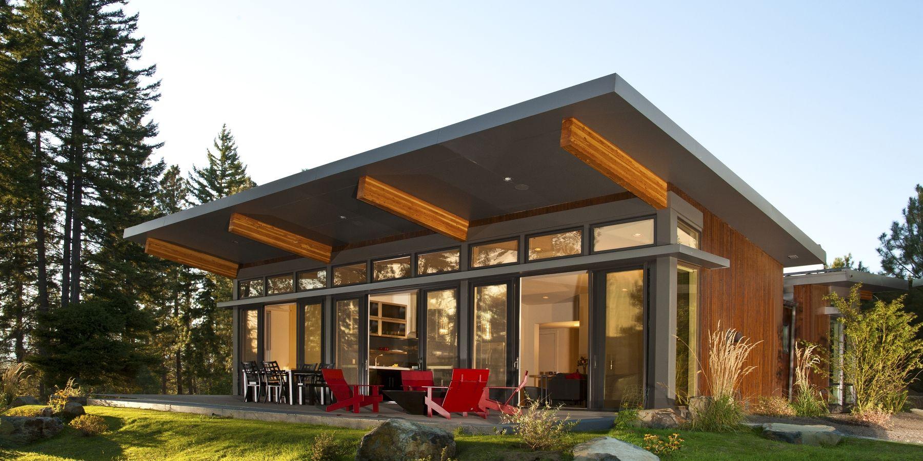 Modern Prefabs Is A Database Of Modern Prefab Homes And Modern