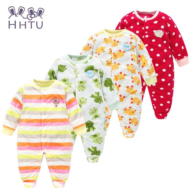 ede229997 HHTU Autumn Winter Baby Rompers clothes long sleeved coveralls for ...