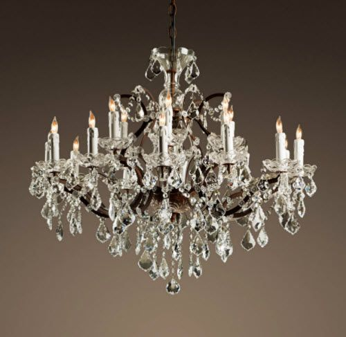 19th Century Alabaster Chandelier Dining Room