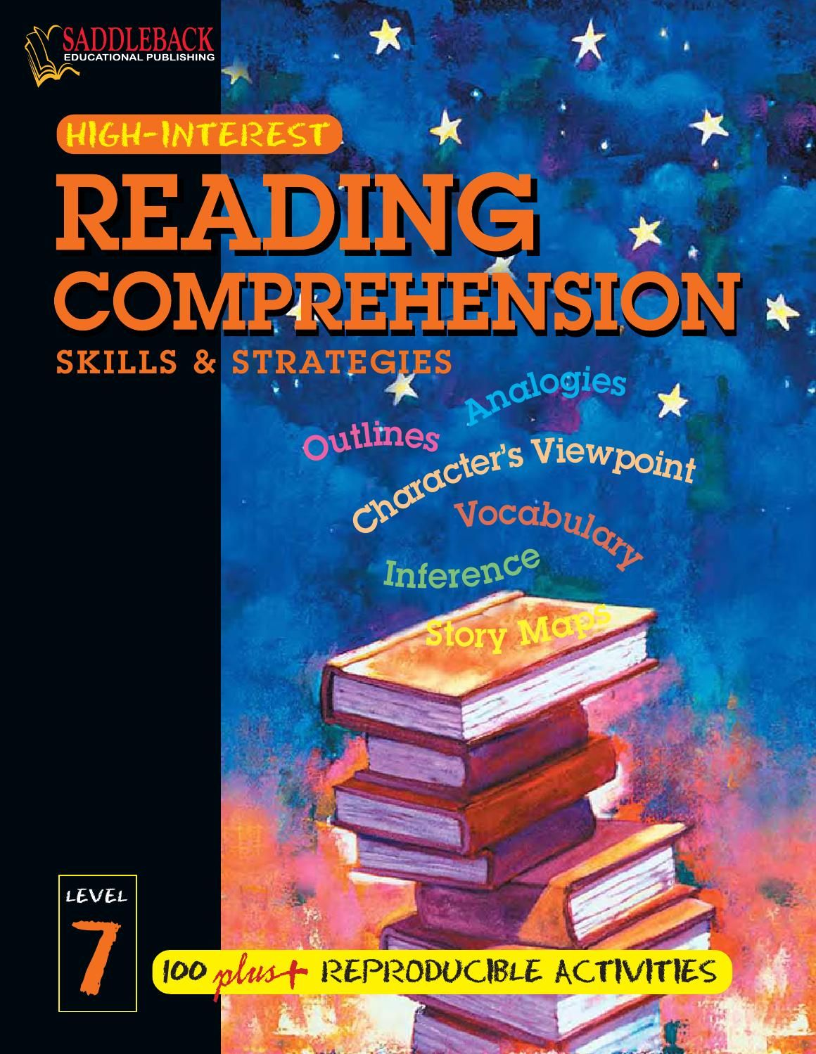 Libros Lectura Ingles Pdf Reading Comprehension Skills And Strategies Level 7 Books