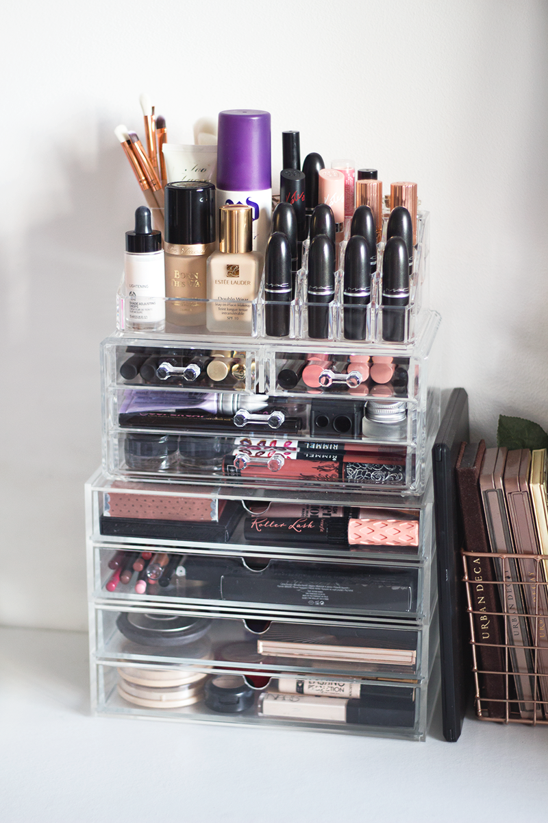35 Ideas For Stylish Makeup Organizer At Home Makeup Storage Organization Makeup Storage Good Makeup Storage