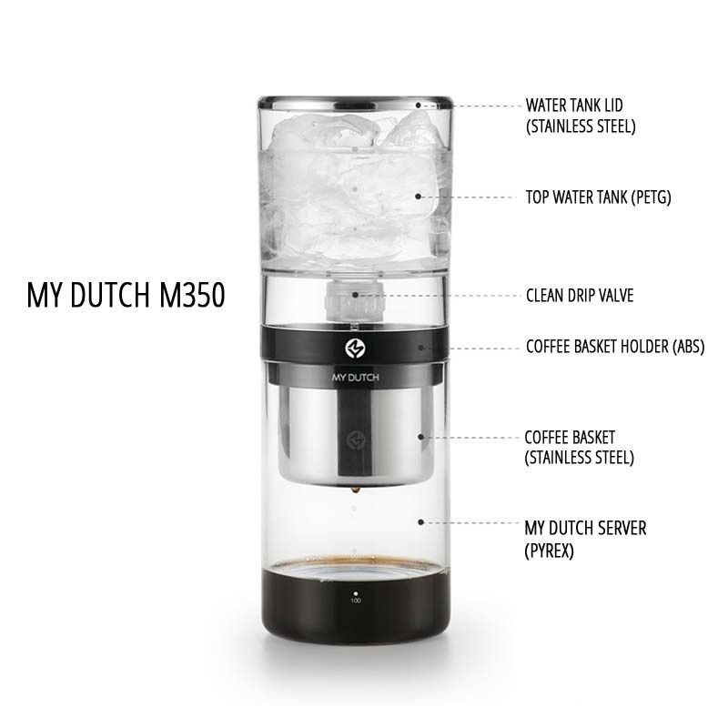 My Dutch 350 Making The Best Ice Drip Coffee At Home Or In Office Coffee Drip Coffee Coffee Basket