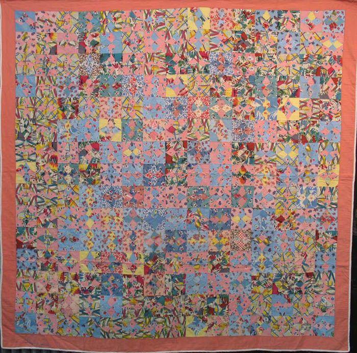 Vintage quilt, collection of Laura Fisher. Pieces of seersucker ... : laura fisher quilts - Adamdwight.com