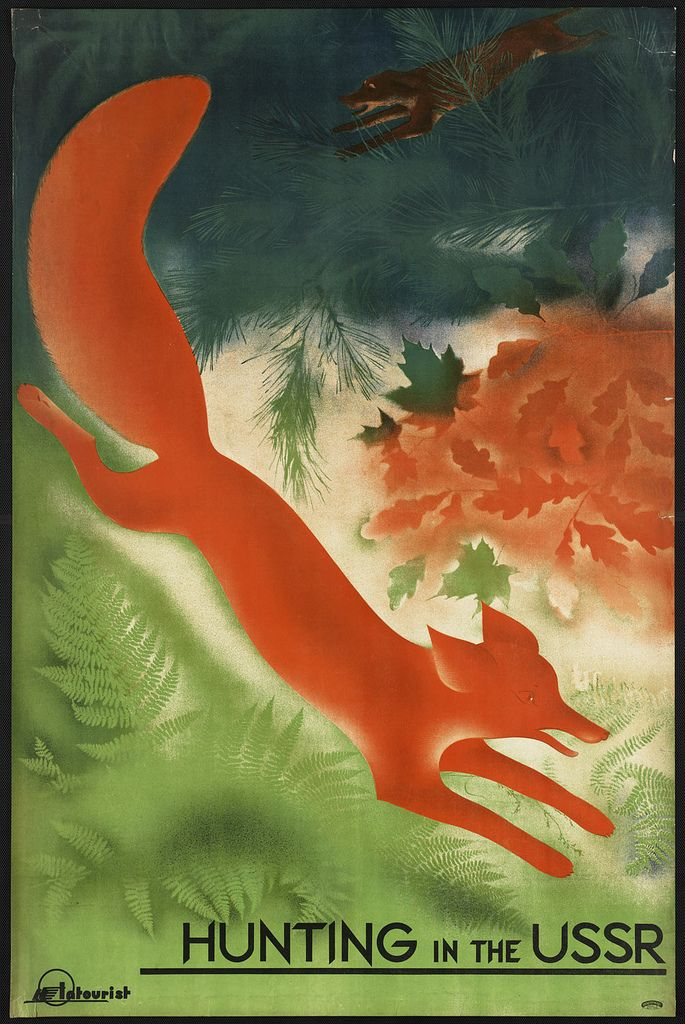 'Hunting in the USSR,' 1910-1959 (approximate)