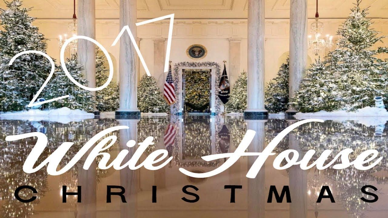 a white house christmas 2017 youtube - The White House Christmas Decorations 2017