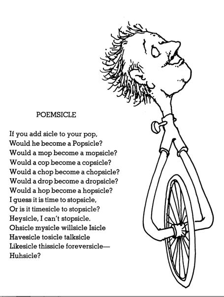 Poemsicle Shel Silverstein Silverstein Poems Shel Silverstein Poems Shel