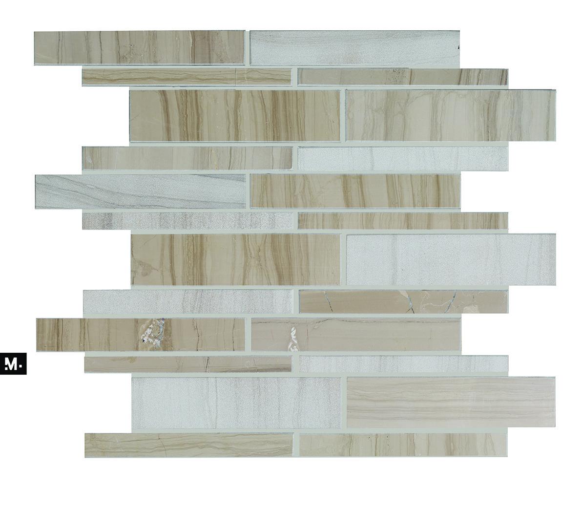 Mudtile Floor Or Wall Mosaic Tile Pattern Name Runway Color