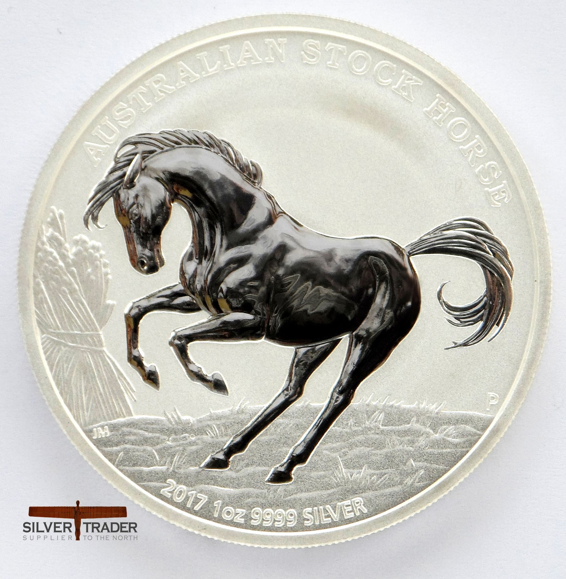 2017 Australian Stock Horse 1 Oz 999 Silver Bullion Coin Silver Bullion Coins