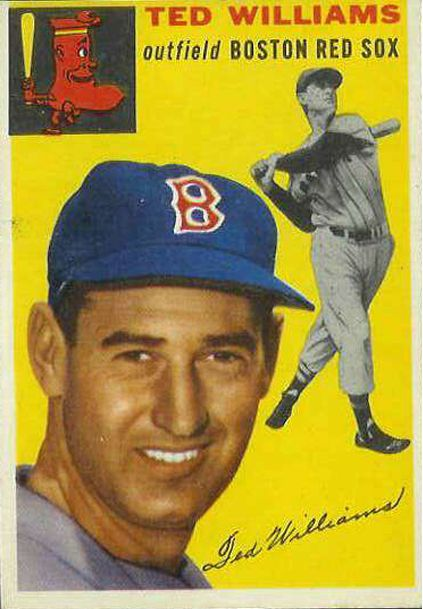 Most Valuable Baseball Cards Best Ted Williams Baseball