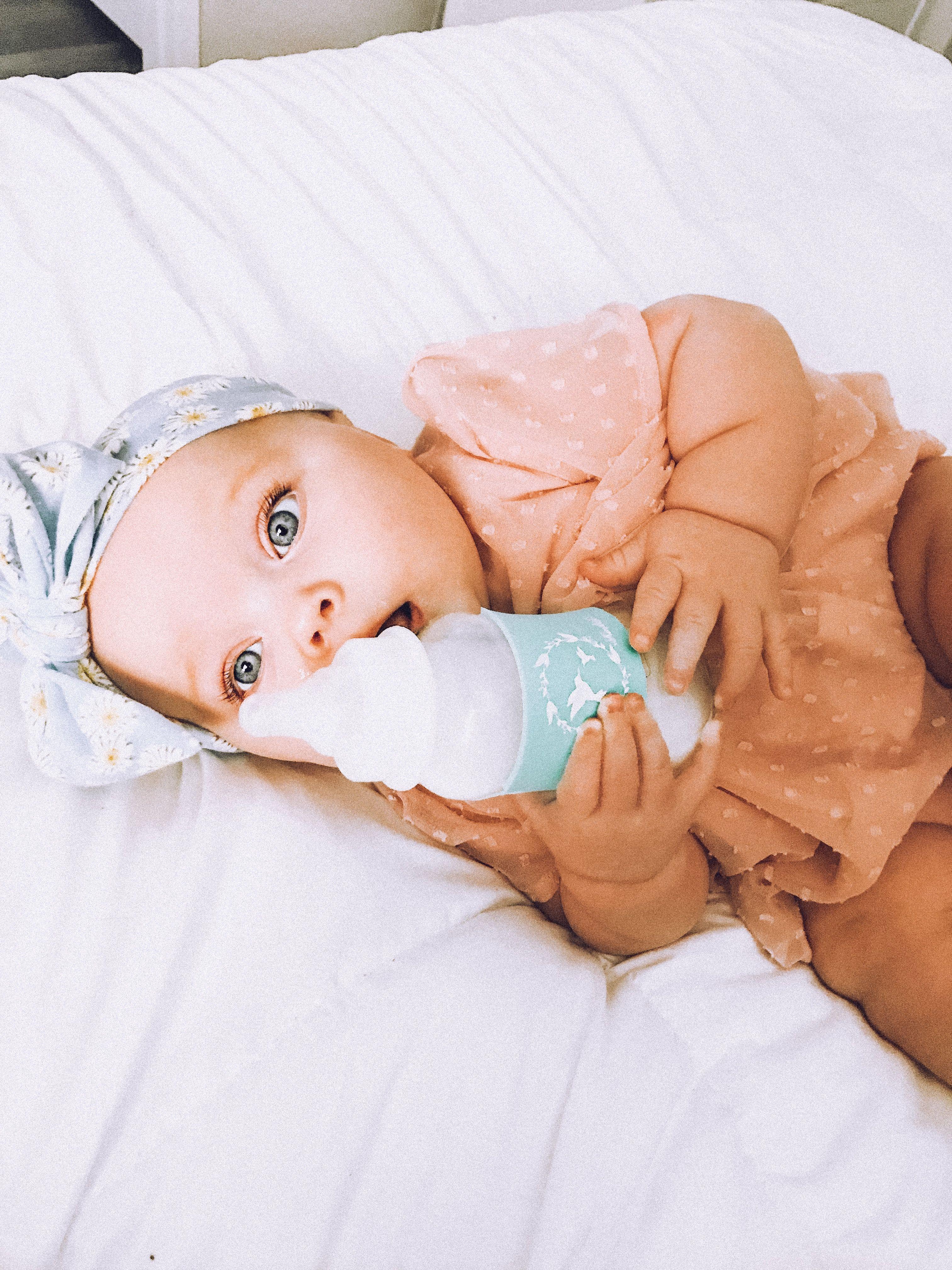 Instagram Aja Kadlubowski Baby Comforter