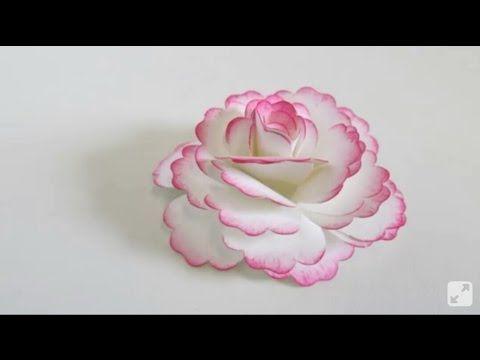 Como Hacer Flores Con Chocolates De Papel Crepe Faciles Youtube