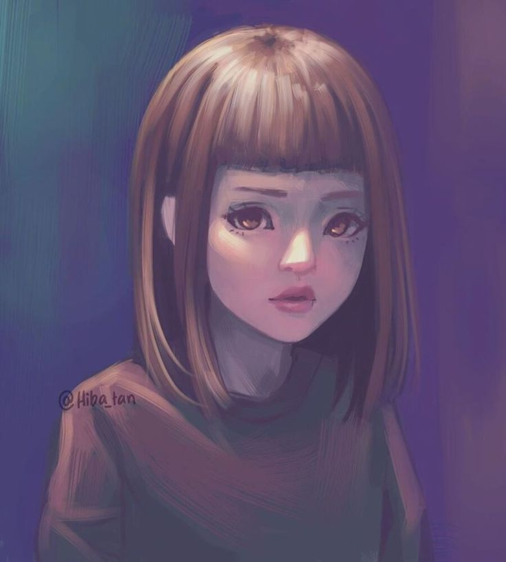 By Hiba Tan Digital Painting Portraits Pinterest Dessin