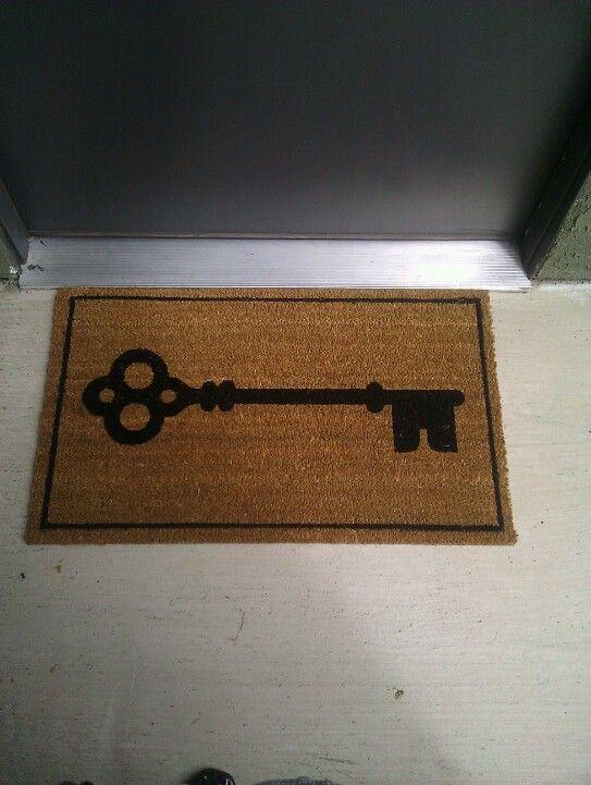 Target Front Door Mat Keys Front Door Mats Doors Decor