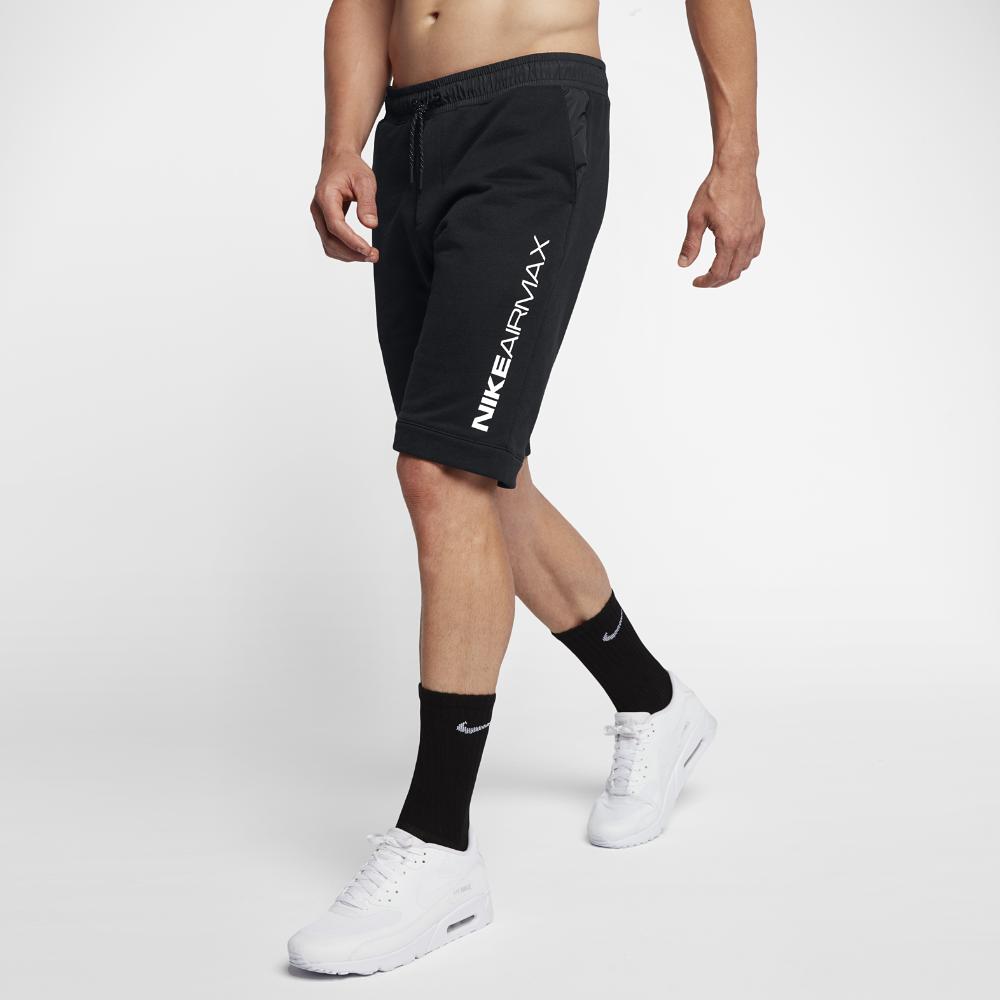 6d5a711033dd47 Nike Sportswear Air Max Men s Shorts Size Medium (Black)