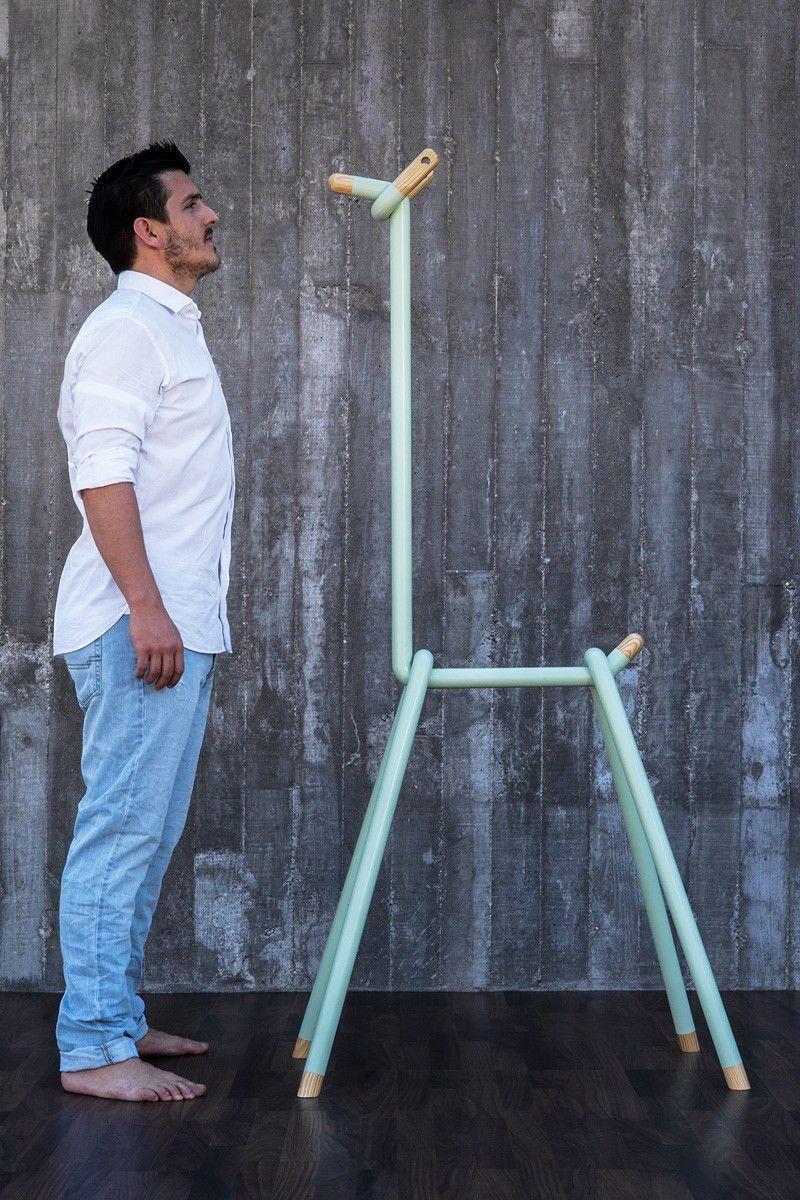 LLAMA clothes rack by Spanish designer André Simón | furniture