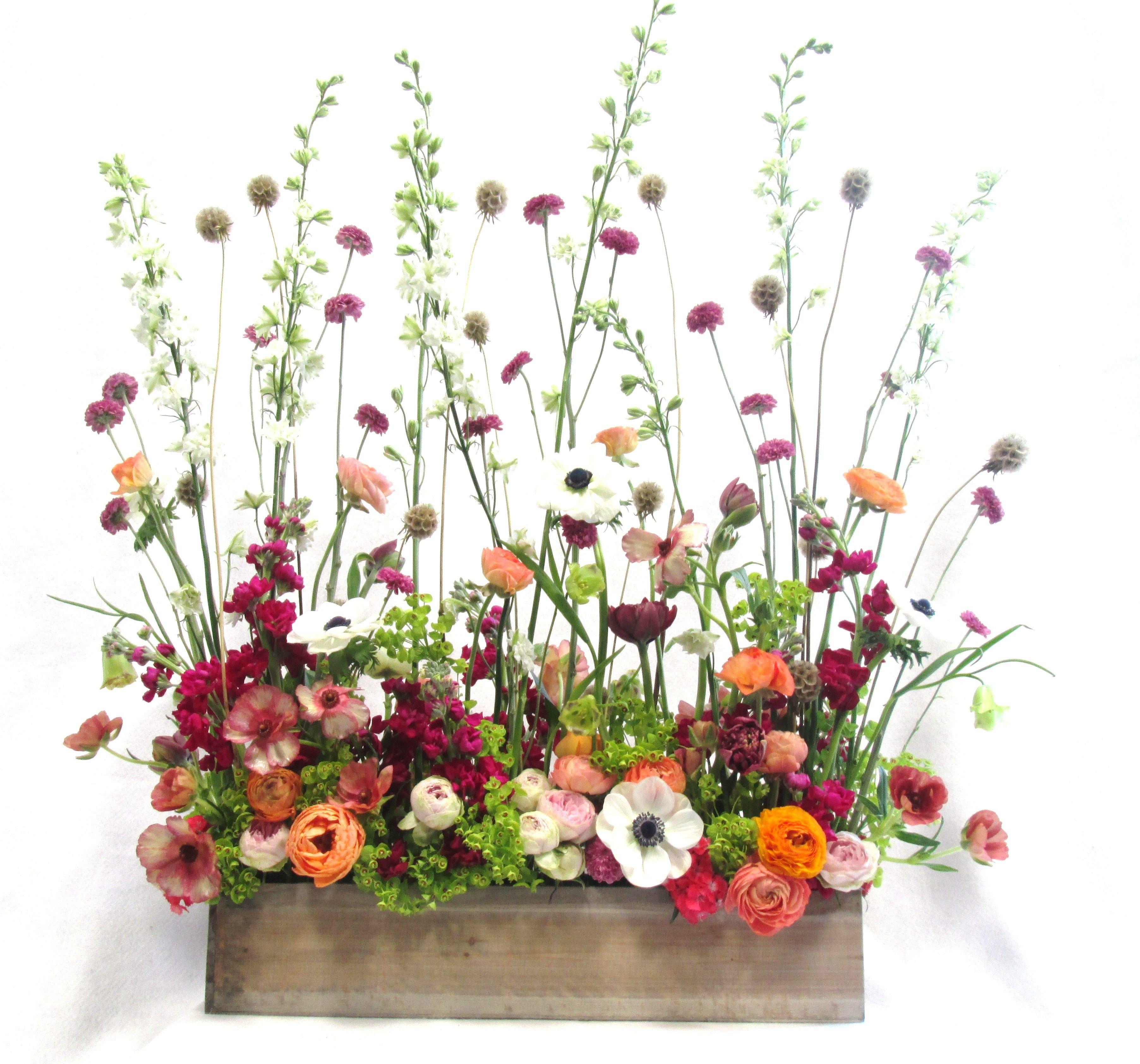 Mother's Day Garden Screen Church flower arrangements