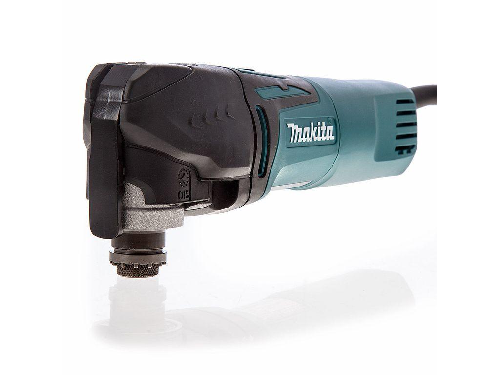 Makita Tm3010ck Oscillating Multi Tool 320w With Tool Less Accessory Change 18478 Multitool Makita Accessories Holder