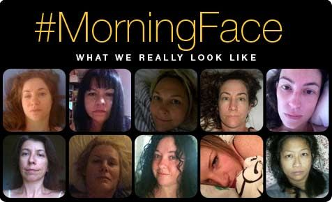 A photo project celebrating what we really look like! #morningface