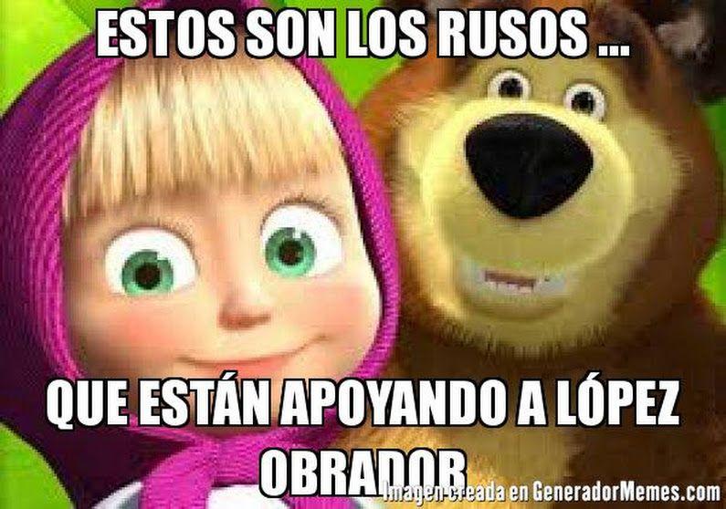 Sign In Memes Masha Y El Oso Obrador