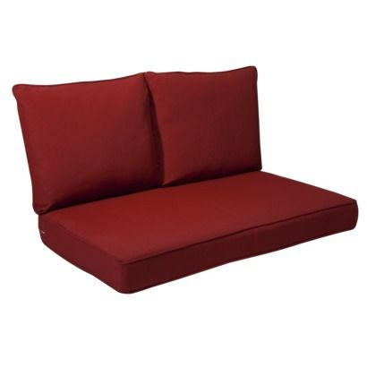 Rolston 3 Piece Outdoor Replacement Loveseat Cushion Set