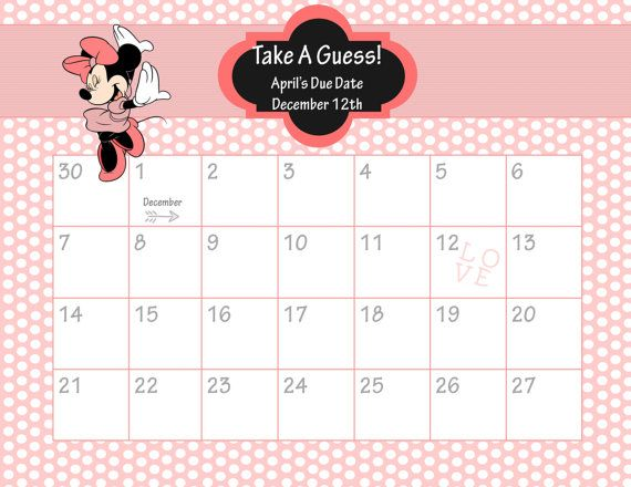 photo about Free Printable Due Date Calendar identify Printable Thanks Day Calendar // Kid Shower Activity // Wager the