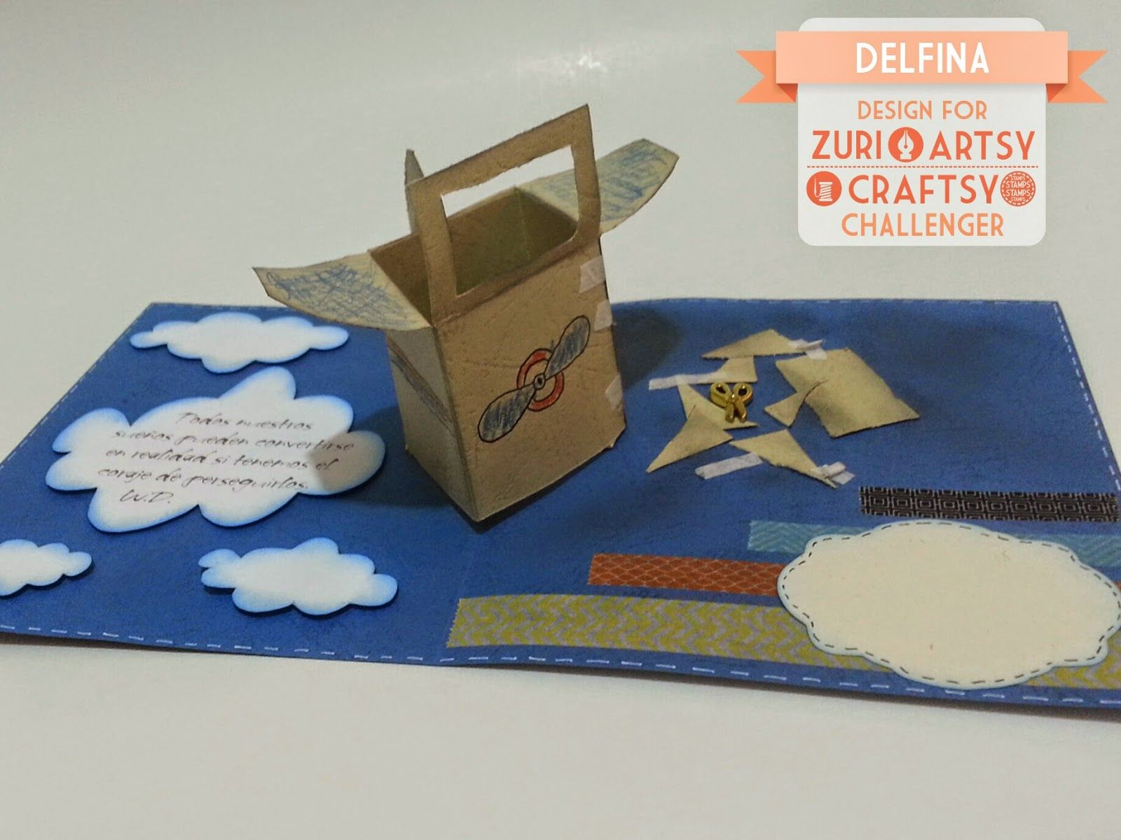 Delfina scrapbook y más...