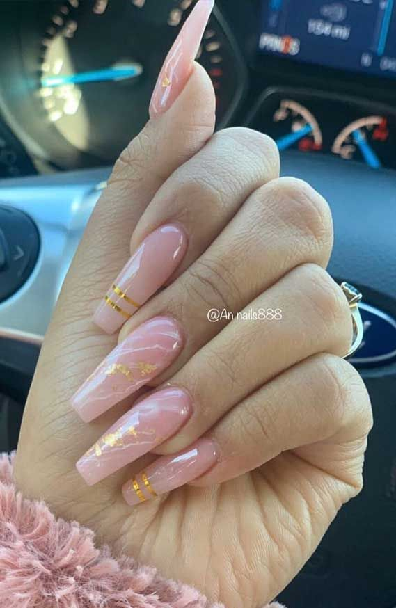 Marble Nail Art Designs To Try This Spring & Summe