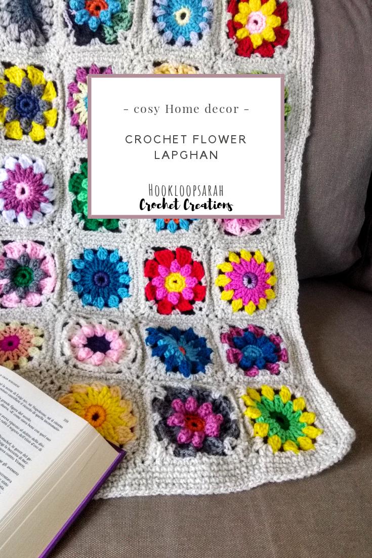 #crochet #crocheted #homedecor #lapghan #blanket #throw #flowerblanket