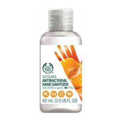 The Body Shop Satsuma Antibacterial Hand Sanitizer 2 0 Fluid