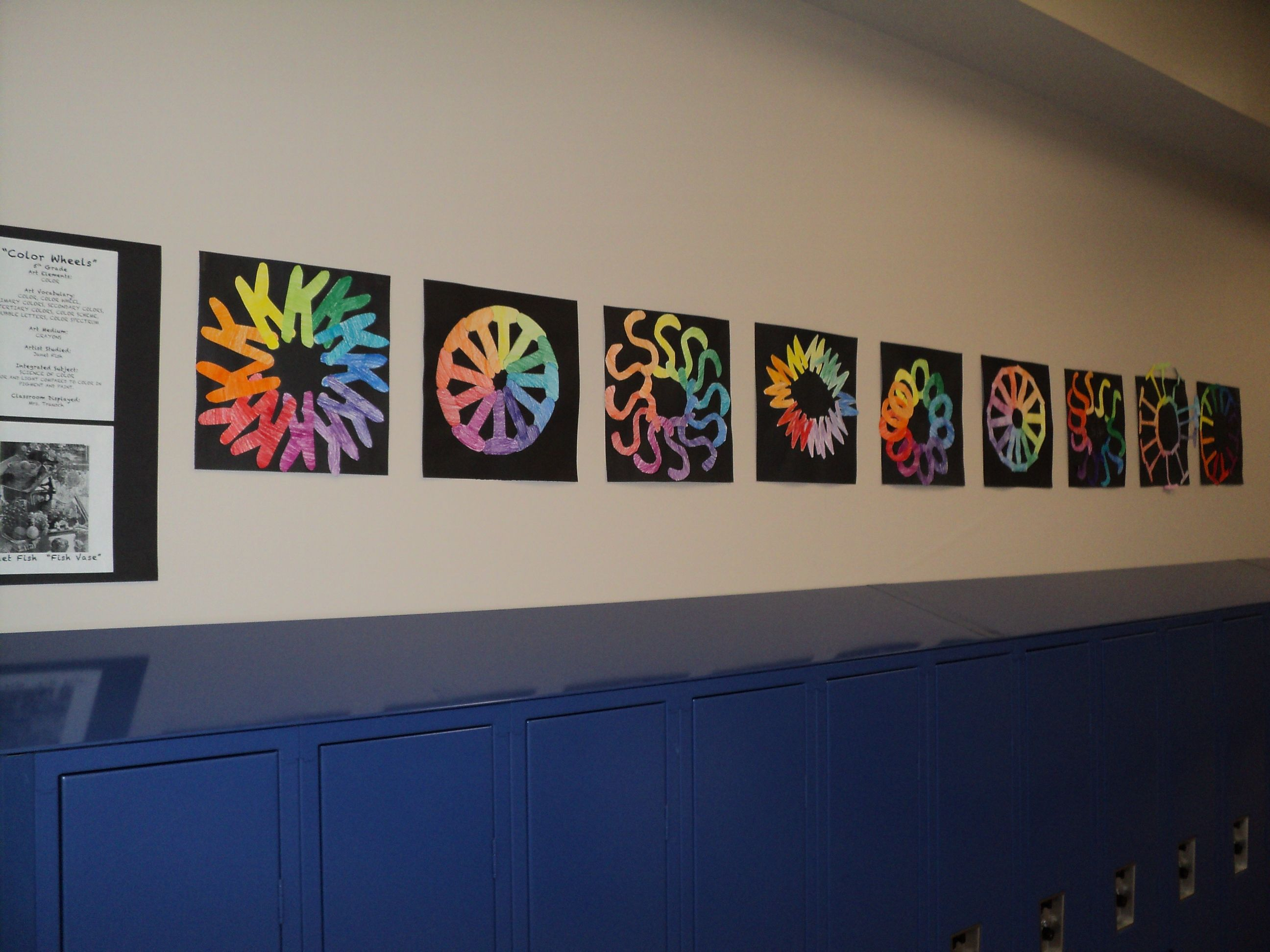 Initial Letters Color Wheels 5th Grade