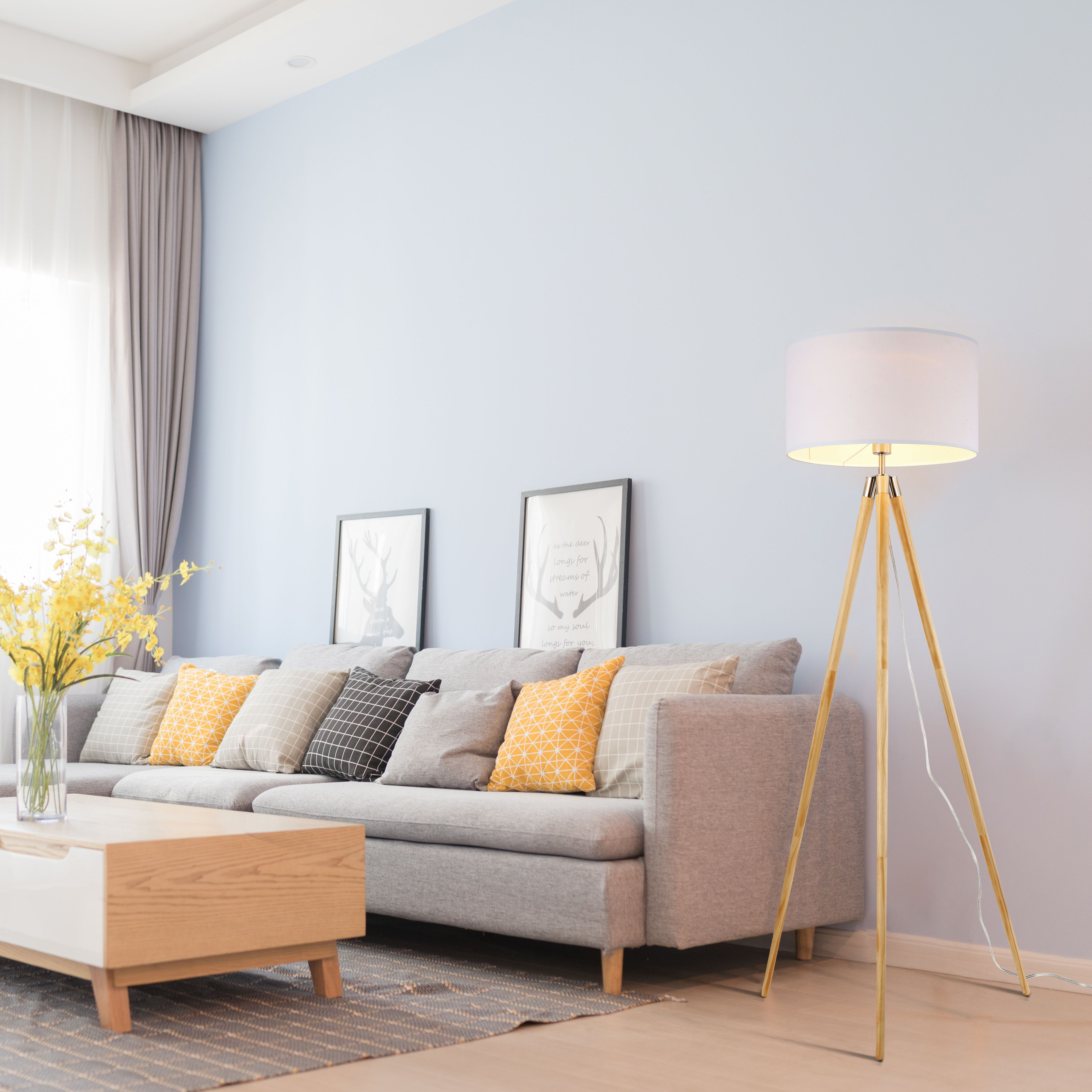 Celeste Tripod Floor Lamp in 2019 | Lighting | Contemporary floor ...
