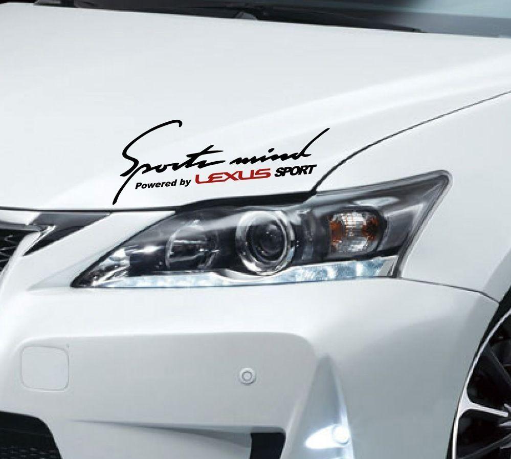 Sports Mind Lexus Is 200 250 300 350 C Es Gs 430 Rx Decal Sticker Emblem Logo B Natash777 Lexus Es Lexus Emblem Logo