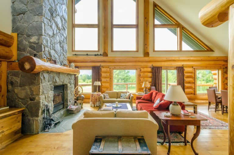 http://camtenna.com/1070/log-homes-interior-designs/tagged-small-cabin-interior-design-ideas-archives-home-wall-simple-log-homes-interior-designs/ #smallloghomeinteriors #loghomesinteriors