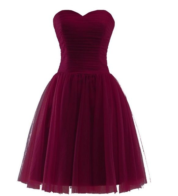Burgundy Bridesmaid Dresses Short Off the Shoulder Sweetheart Marsala Cabernet Bridemaid Dress Maid Of Honor Wedding Party Gown
