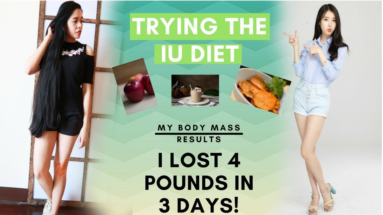 I Tried The Iu Diet Kpop Idol My Body Mass Results After Lose 4 Pou Iu Diet Kpop Diet Diet