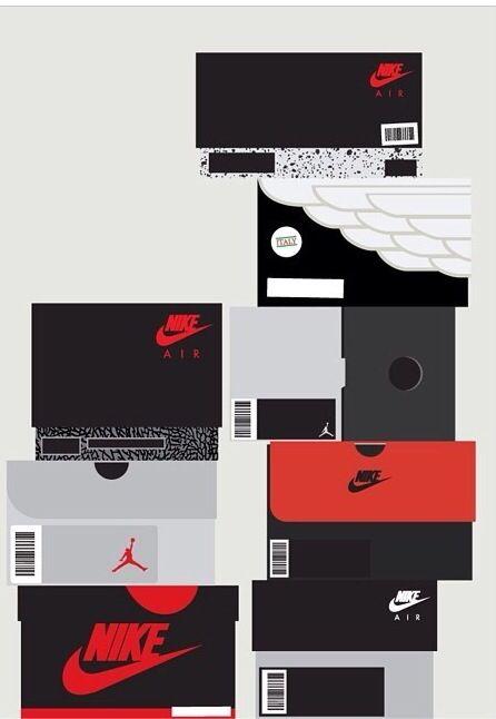 Sneaker Boxes Jordan Shoes Wallpaper Sneakers Nike Iphone Wallpapers