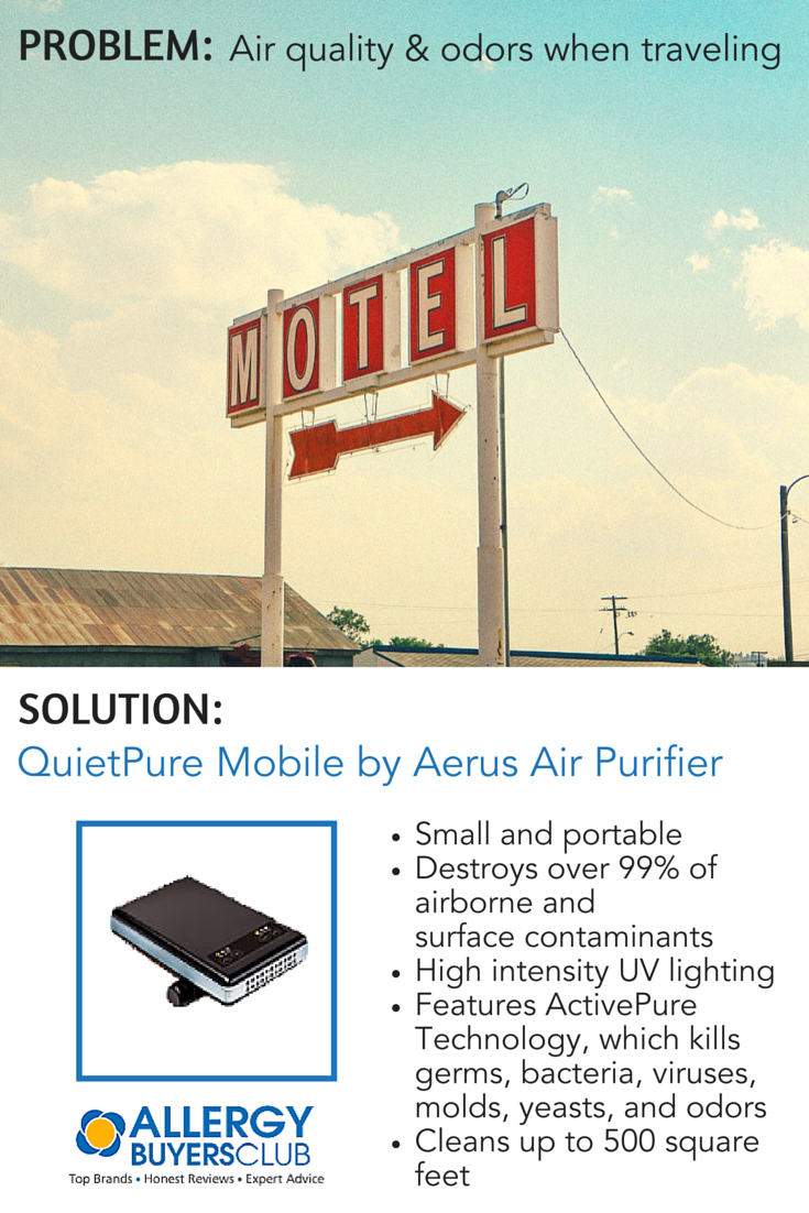 QuietPure Mobile™ Portable Air Purifier by Aerus