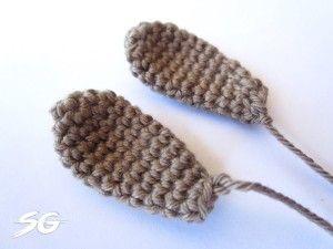 Hasen Ohren Häkeln Esel Pinterest Crochet Bunny Crochet Und
