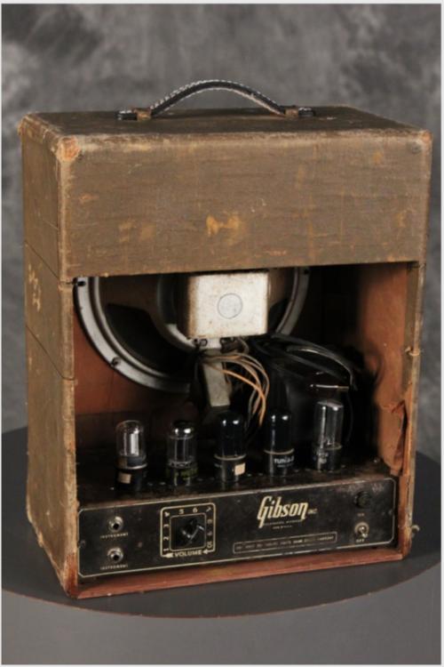 bushdog 1947 gibson br 6 tube amplifier rare vintage boutique guitar stuff in 2019. Black Bedroom Furniture Sets. Home Design Ideas