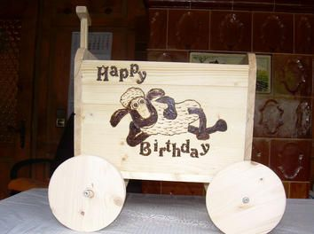 give your kids hours of fun playtime with this wooden handcart http www 1 2. Black Bedroom Furniture Sets. Home Design Ideas