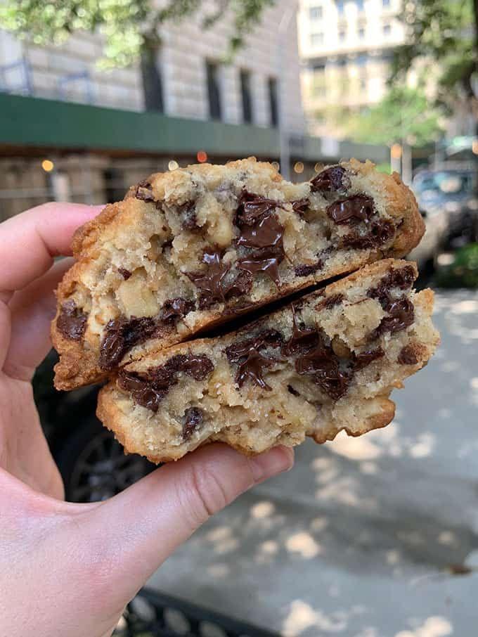 Copycat Levain Bakery Chocolate Chip Cookies - Sweetest Menu