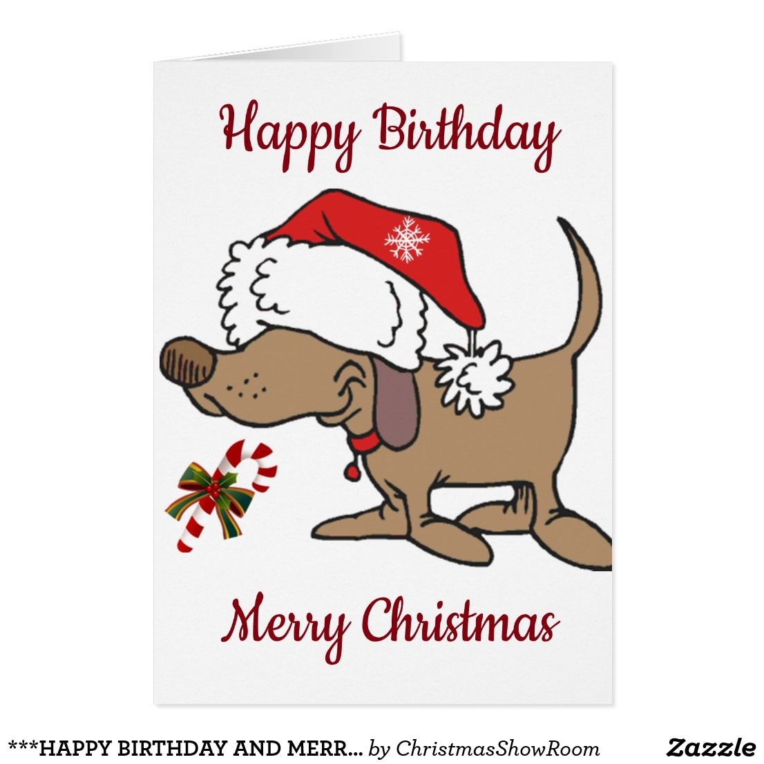 HAPPY BIRTHDAY AND MERRY CHRISTMAS*** SPECIAL U CARD | PICTURE THIS ...