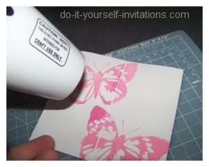 Diy hand stamped butterfly baby shower invitations projects diy hand stamped butterfly baby shower invitations solutioingenieria Images